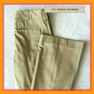 Armani Exchange Pants - 🆕 LISTING ARMANI EXCHANGE TAN SLEEK PANTS