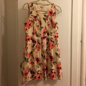 Madewell Pleated Silk Dress