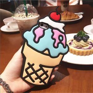 Accessories - Ice cream cone iPhone case