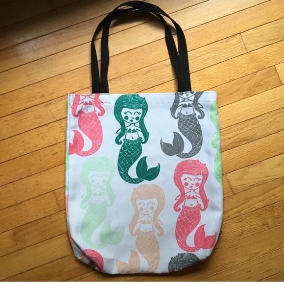 ecf27ce7762e Deny Designs Handbags - Mermaid Tote Bag