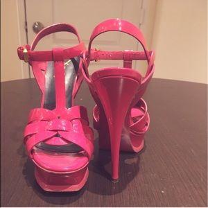 Yves Saint Laurent Shoes - Yves Saint Laurent Classic Tribute 105 Heels Pink