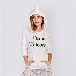 ClosetBlues Unicorns Tops - Coming Soon! I am a Unicorn Hoodie With Horn