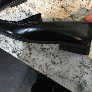Topshop Shoes - Top shop black penny loafers