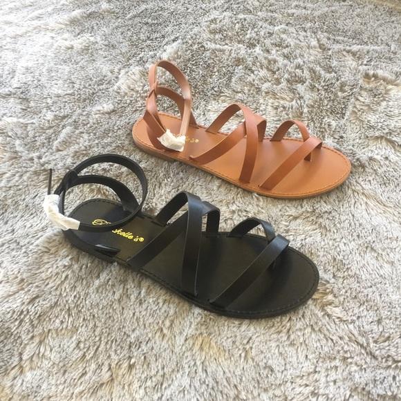 LF Shoes - Under Wraps Sandal - Black