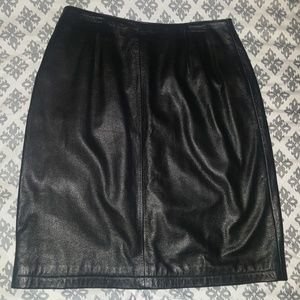 Maxima Dresses & Skirts - Leather Skirt
