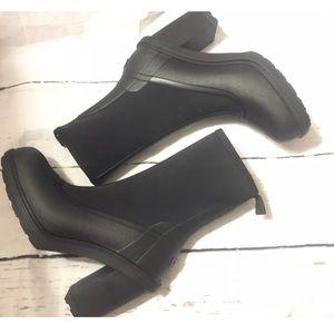 Hunter Shoes - Hunter Original Sock Boot heeled rain boot