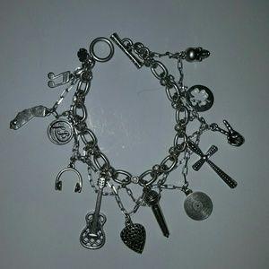 Jewelry - Lucky Brand California rocker charm bracelet