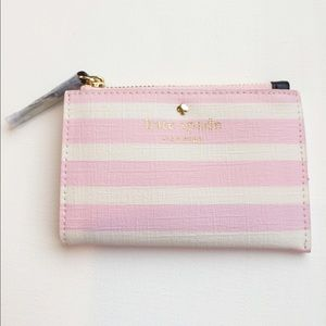 kate spade Handbags - Kate Spade Fairmount Square Cori Pink/Cream purse