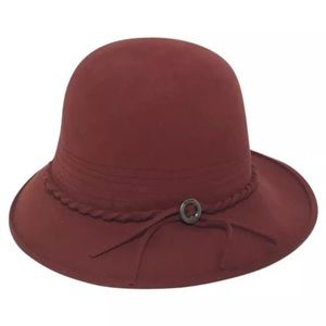 Brixton  Accessories - Brixton Felt Hat in Burnt Orange