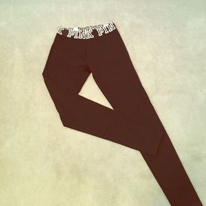 PINK Victoria's Secret Pants - VS PINK Yoga Black Leggings