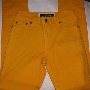 Levi's Other - Mustard Levi super skinny 510 jeans. 29W x 30L
