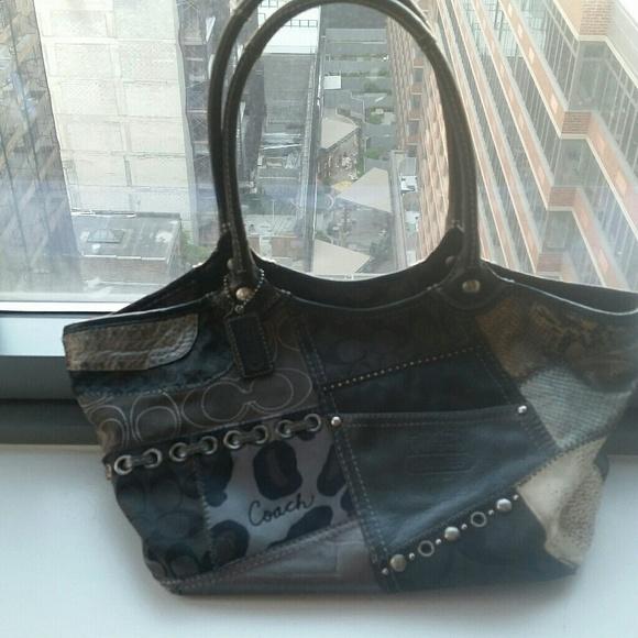 Coach Handbags - COACH PATCHWORK BAG *AUTHENTIC*