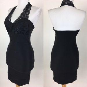 Poetry Dresses & Skirts - Elegant black halter dress