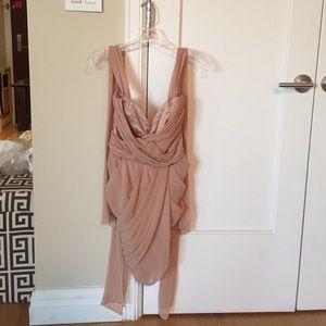 Lipsy London Dresses & Skirts - Lipsy London pink/beige dress size 8
