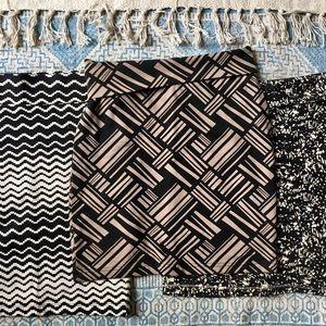 Dresses & Skirts - 3 bodycon skirts sz S, XS, 0, 2