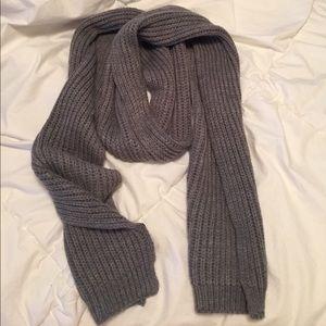 Gray scarf