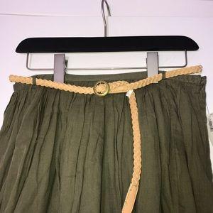 Old Navy Dresses & Skirts - Old Navy Belted Flare Skirt