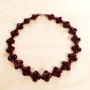 Jewelry - Beautiful Red Choker Necklace from Budapest