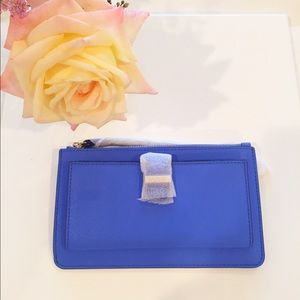 kate spade Handbags - NWTs Kate Spade Karolina Wristlet Advent  Blue