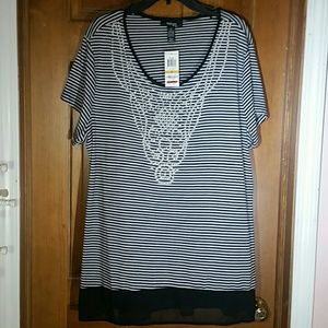 Woman's Beaded Top, 3X