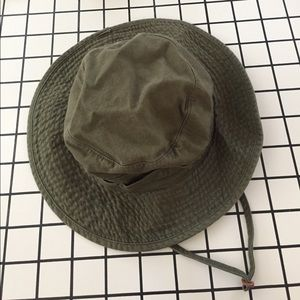 8af0beeb176 Urban Outfitters Accessories - Washed Canvas Fishing Bucket Hat