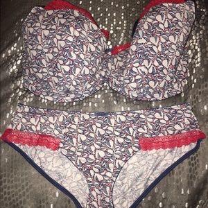 Panache Other - Panache Cleo bra and panty set 34H