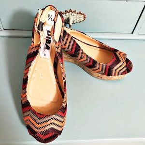 Diba Shoes - Diba Platform Threaded Wedge