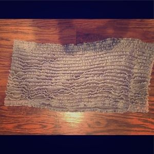 2 Chic Accessories - Stretchy tan infinity scarf