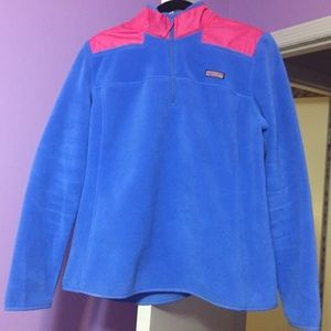 Women's Vineyard Vines Fleece Shep Shirt Size L