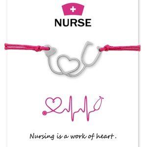 Nurse or Nursing student -Make a wish bracelet