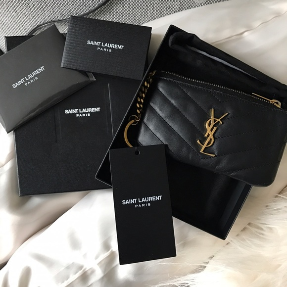 68ed2403b5d Yves Saint Laurent Accessories | Ysl Key Pouch | Poshmark
