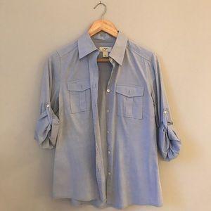 Loft Fashion Tops - Loft denim shirt