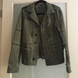 Zadig & Voltaire Jackets & Blazers - Zadig & Voltaire Cotton Military Jacket