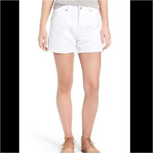 """Citizens of Humanity Pants - Citizens of Humanity """"Corey"""" high rise shorts 27"""