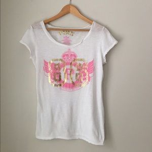 PINK Victoria's Secret Foil Tee Shirt