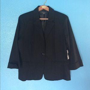 Covington Jackets & Blazers - NWT Covington XL black blazer