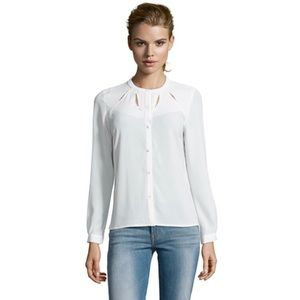 Greylin Tops - ➡New Greylin White Victoria Cutout Blouse⬅
