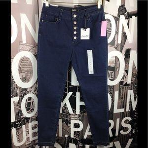 Nanette Lepore Denim - Nanette Lepore Ludlow Skinny Flora Wash Jeans