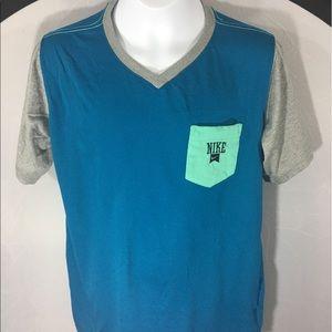 Nike Dri Fit Boys Lg Dri Fit Short Sleeve T Shirt
