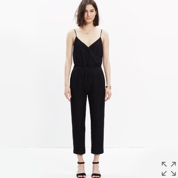 c3b449be393 Madewell Pants - 🌟SALE🌟 Madewell lace cami jumpsuit sz L