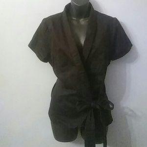 Torrid..euc Belted top/jacket sz1