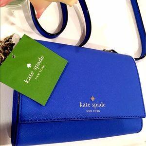 kate spade Handbags - NWTs Kate Spade Cedar Street Cami Advent Blue