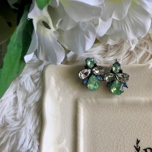 "B&B Jewelry - ""Felicia"" Crystal Statement Earrings"