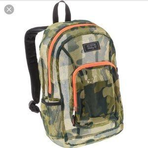 Austin Clothing Co. Handbags - Austin Clothing Co camouflage mesh backpack