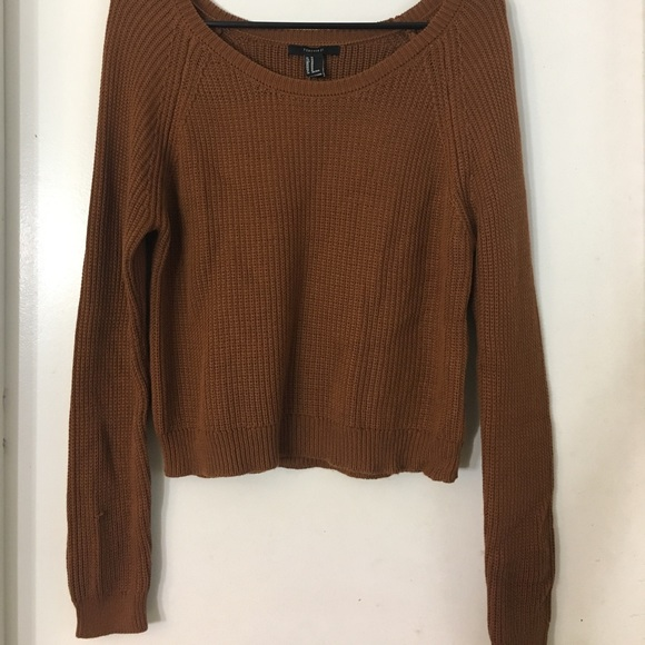 Forever 21 Sweaters - Cozy Cropped Sweater