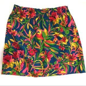 J. Crew Factory Dresses & Skirts - NWOT - J. Crew printed sidewalk skirt