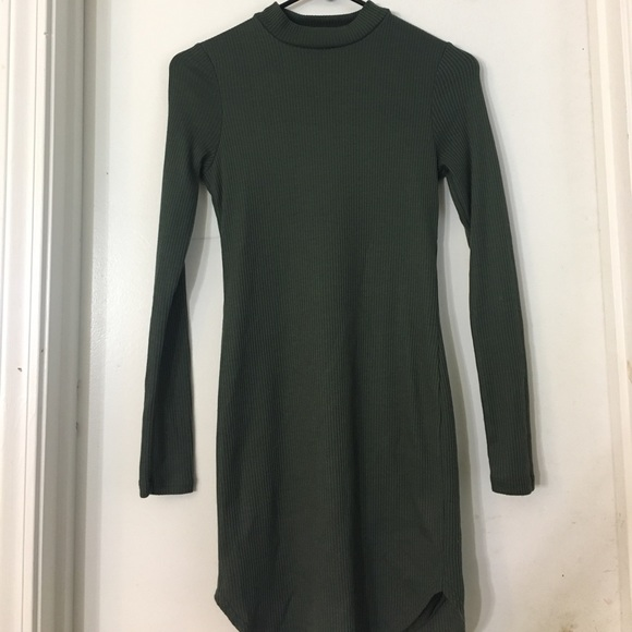 Dresses - Green Mini Dress
