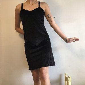 Nasty Gal Dresses & Skirts - Black Velvet Vintage Dress