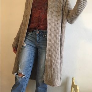 American Eagle Outfitters Sweaters - American Eagle Duster Cardigan