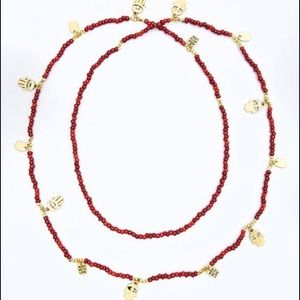 CC Skye Jewelry - CC Skye gold and coral pendants necklace